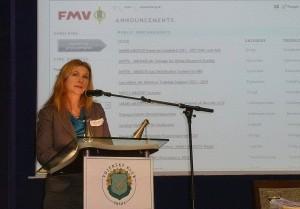 FMV:s afärsutvecklingschef Ingrid Nilsson. Foto: FXM