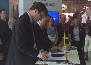 Under tisdagen skrev SOFF och organisationens brasilianska motsvarighet ABINDE ett samarbetsavtal.